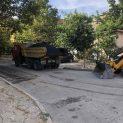 Мащабно асфалтиране в Сливен