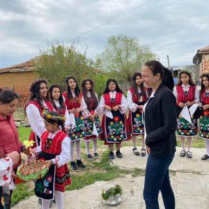 Поздравление по случай Цветница от народния представител Хатидже Георгиева
