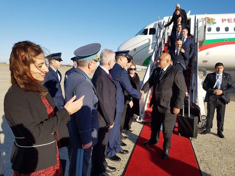 Бойко Борисов пристигна в САЩ