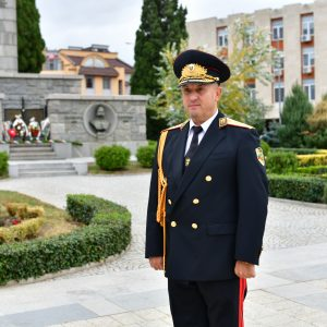 Поздравление от старши комисар Димитър Величков по случай 141 години от създаването на МВР